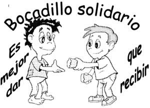 Resultado de imagen de bocadillo solidario